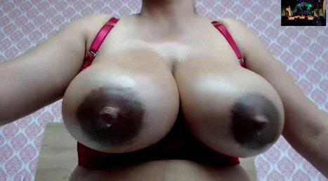 Huge Engorged Tits Breast Milk Filled Latina