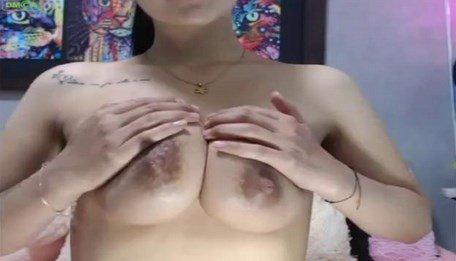 Asian Lactating Tits Camgirl Milking