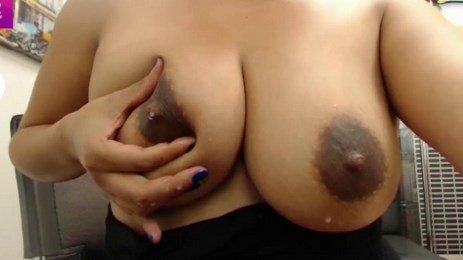 Big Lactating Tits Dark Nipples Latina MILF