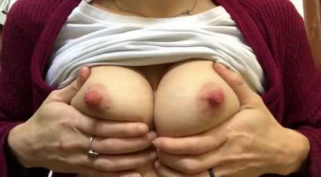 Amazing Tits With Hard Pink Nipples Being Milked