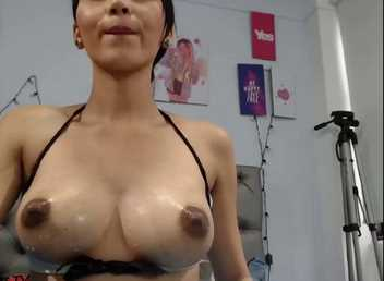 Latina Teen Squirting Out Ridiculous Amount Of Milk