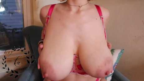 JOI With Big Engorged Tits Lactating Teen