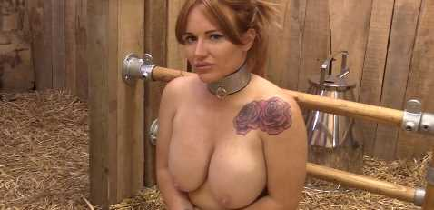 Engorged Tits MILF Used As Hucow