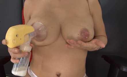 Asian Latina MILF Milking Tits Lactation Porn