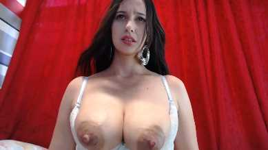 Gorgeous Lactating Teen With Big Puffy Nipples