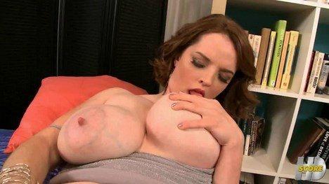 Huge Lactating Tits MILF Self Breastfeeding