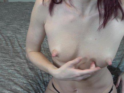 Sexy Babe Milking Boobs & Spraying Breast Milk