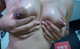 Full Milky Boobs Lauramartinez21 Lactation Play Porn
