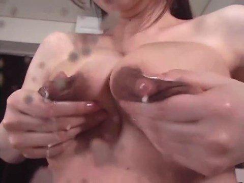 MILF Asian Lactating Solo Milking Porn