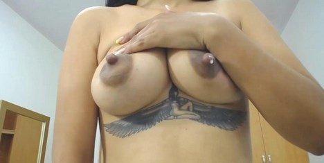 Latina Lactating Webcam Hot Milky Tits MILF