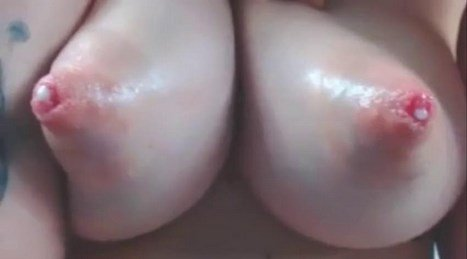 Amazing Pink Lactating Nipples Being Milked