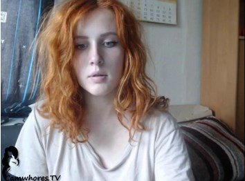 Sexy Redhead Lactating Cam Girl Tight Pussy