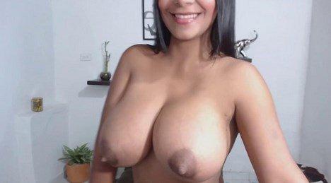 Huge Lactating Tits Latina Camgirl Teen